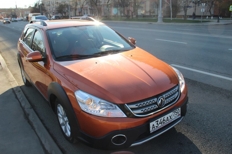 DongFeng H30 Cross: Ветер из Китая
